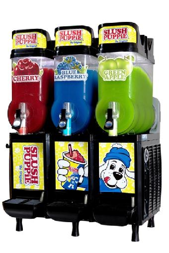 CAB Three Bowl Slush Puppie Machine